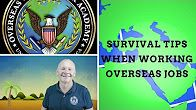 Old Sarge is back to give his best survival tips when working jobs overseas as a contractor! Here are a few tips to help prepare you to go overseas for your contractor job. #overseasjob #contractor #job #survivaltips #oldsarge #academy