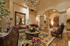 17 Italian Villa Living Room