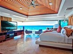 A bedroom with a view!