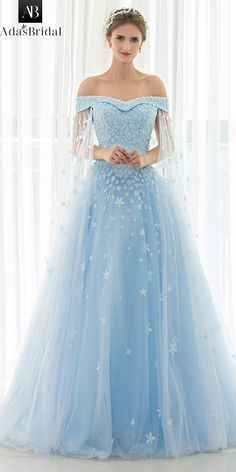 Dress fall in love with In Stock Attractive Tulle Off-the-shoulder Neckline A-line Prom Dress With Beadings & Lace Appliques NEW! In Stock Attractive Tulle Off-the-shoulder Neckline A-line Prom Dress With Beadings & Lace Appliques A Line Prom Dresses, Quinceanera Dresses, Ball Dresses, Homecoming Dresses, Ball Gowns, Cinderella Prom Dresses, Fairy Prom Dress, Blue Wedding Dresses, Princess Dresses