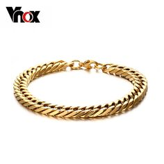Jewelry 0.8cm Wide Stainless Steel Gold Silver Curb Chain Bracelet for Men Women Stainless Steel High Polished, 8.6 Oh Yeah #Jewelry #shop #beauty #Woman's fashion #Products