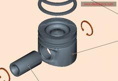 0450 9329 Piston STD 101.0mm Deutz Engine Parts deutz spare parts Diesel, Tractor Parts, Spare Parts, Tractors, Engineering, Diesel Fuel, Technology
