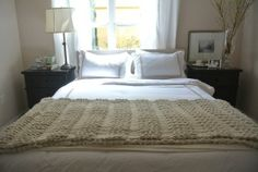 Michelle's Natural & Neutral Bedroom My Bedroom Retreat Contest