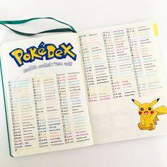 pokemon go pokemongo bullet journal bujo
