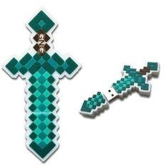Minecraft Diamond Sword USB Flash Drive. Awesome stocking stuffer.