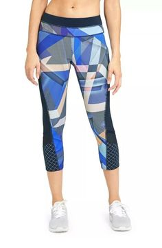 Large Women/'s Active  Camouflage Yoga Capri NWT in Original Plastic Package