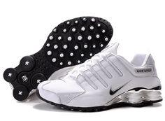 sale retailer 495c9 ad6ec Nike Shox NZ sl Women s white black running shoes NK-Shox Sale  Womens Shoes  2014 -   website for a bunch of nike shoes on sale!