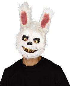 Halloween Fluffy Plush Cuddly Devil Eye Mask