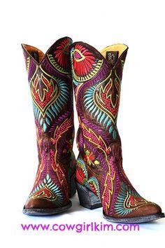 WOW! OLD GRINGO TIEGAN BOOTS! - Cowgirl Kim