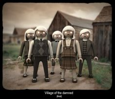 Village of the damned Playmobil by Pilar Damaso R.