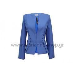 Μεσάτο σακάκι ίντιγκο Wetsuit, Indigo, Blazers, Swimwear, Jackets, Shopping, Women, Fashion, Scuba Wetsuit