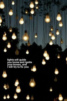 Lyric Wallpaper: Coldplay - Fix You