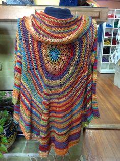 Pinwheel Cardigan By Amy Depew - Free Crochet Pattern (Basic Instructions) - (ravelry)