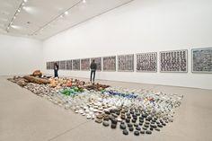 Gabriel Orozco's Asterisms - Deutsche Guggenheim Museum | Art Exhibitions, Latin American Art | Consumerism, Environmental, Gabriel Orozco, Political |Contemporary Art