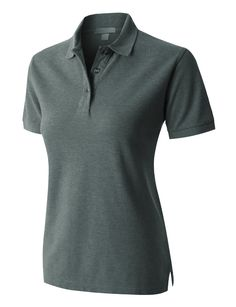 PREMIUM Womens Short Sleeve Sports Pique Polo Shirt