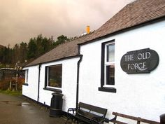 The Old Forge sits in the tiny village of Inverie, on the northern shore of Loch Linnie. If walking in is not your thing, you can get there by postal boat or occasional ferry from Mallaig - the stepping off point to the 'Small Isles' of Muck, Eigg and Rhum.Knoydart Peninsula, Scotland.