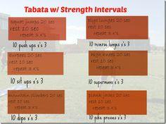 Tabata Workout w/ Strength Bursts