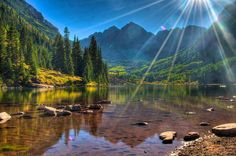 Aspen, Colorado (The Maroon Bells in White River National Forest)