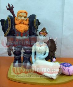 World Of Warcraft Wedding Cake Toppers