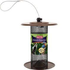 Kaytee Mealworm and Nut Mesh Wild Bird Feeder, Holds oz Mealworms or 1 lbs Safflower Seed, Beige Best Bird Feeders, Wild Bird Feeders, Wild Bird Food, Wild Birds, Shelled Peanuts, Sunflower Hearts, Bird Calls, Mesh Screen, Amazing Gardens