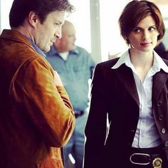 "I love how she still gives him this look after 7 seasons! It's just filled with more love now with the thought ""Shucks I married this guy"" #Caskett"