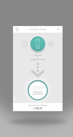 도형의 안에 사용자 데이터를 표시하여 눈에 들어오게끔 디자인 하였으며 간단한 메시지전달로 더욱더 가독성을 옾린 Ui인듯 하다