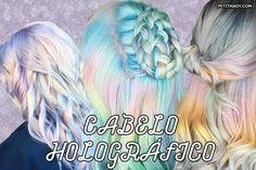 Todas as revistas de moda e estilo divulgaram esta semana a mesma tendência: os cabelos holográficos! http://petitandy.com