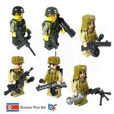 Minifigure Korean War Set