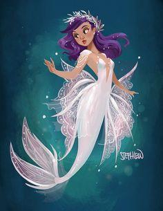 New Tattoo Mermaid Tail Fantasy Ideas Siren Mermaid, Mermaid Fairy, Mermaid Tale, Lace Mermaid, Tattoo Mermaid, Vintage Mermaid, Mermaid Artwork, Mermaid Drawings, Mermaid Paintings