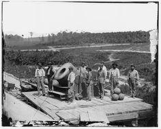 Gruppenbild mit Diktator:  Unionssoldaten posieren am 1. September 1864...