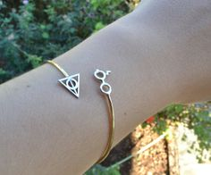 Tiny Harry Potter Cuff by thinkupjewel