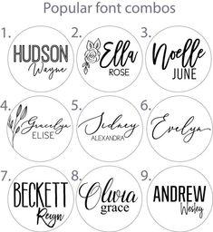Baby Name Signs, Baby Names, Dog Names, Font Combos, Font Pairings, Handwriting Fonts, Cursive Fonts, Calligraphy Fonts, Amazing Handwriting