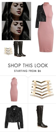 """""""Isabelle Lightwood - Shadowhunters"""" by shadyannon ❤ liked on Polyvore featuring Charlotte Russe, Vetements and Frye"""
