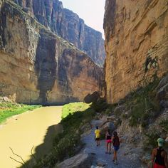 Best Short Hikes Big Bend Santa Elena Canyon