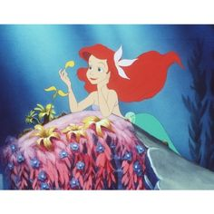 Disney cancels 'Little Mermaid 3-D dates 'Pirates 5' for 2015 ❤ liked on Polyvore featuring disney, pictures, the little mermaid, ariel and art