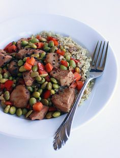 At 48 grams of protein and fewer than 350 calories per serving, this healthy take on a Chinese takeout favorite is so much better than Panda Express!