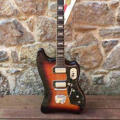 Guild Thunderbird S-200 1964 Sunburst | Dayton Vintage Guitars & Amps | Reverb Vintage Electric Guitars, Vintage Guitars, Dan Auerbach, The Black Keys, Guitar Amp, Model, Scale Model, Models