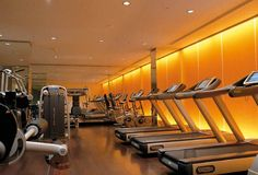 Guests can take advantage at Hotel Metropole's Fitness Studio that holds the latest innovations from Technogym's cardio-workout range, #wellnessinhotels #technogym