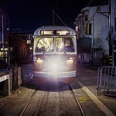 """""""Boston PCC Car Parked Just Behind 17th & Market Stop"""""""