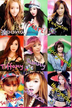 K-POP GIRL BAND : SNSD - Girl's Generation