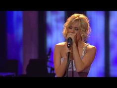 """Carrie Underwood - """"Blown Away"""" Live at the Grand Ole Opry. I absolutely love this performance. She sounds absolutely wonderful and her background vocalist has a really lovely voice."""
