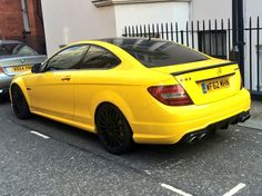 Mercedes Benz C63.  Not sure about the colour though.