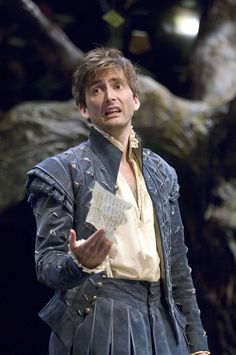 David Tennant Photo Of The Day - 24th September 2014: As Berowne in 'Love's Labours Lost' - October 2008