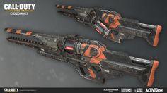 ArtStation - Exo Zombies: LZ-52 Limbo, Ethan Hiley