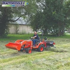 Compact Tractor Attachments, Compact Tractors, Lawn Mower, Outdoor Power Equipment, Tools, Instagram, Lawn Edger, Instruments, Grass Cutter
