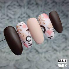 30 ideas which nail polish to choose - My Nails Glam Nails, Beauty Nails, Stiletto Nails, Stylish Nails, Trendy Nails, Cute Acrylic Nails, Cute Nails, Nail Art Fleur, Floral Nail Art