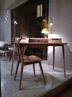 Treviso desk by Ercol