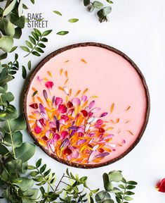 japanese garden design Japanese Garden Tart, a cocoa base accompanied by flavored lemon cheese cake topped with gelatin and edible flower petals. Tart Recipes, Dessert Recipes, Dessert Food, Food Menu, Food Food, Dinner Recipes, Lemon Cheese, Goat Cheese, Sweet Tarts