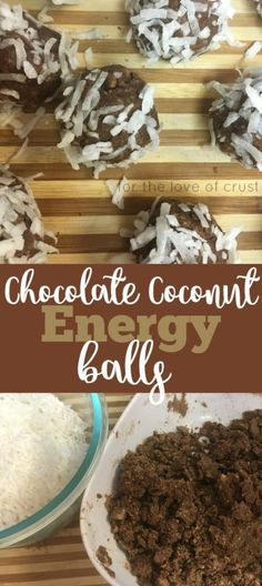 Raw Chocolate Coconut Energy Balls made with Kashi GOLEAN Plant-Based Protein…