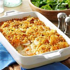 Dijon Scalloped Potatoes Recipe